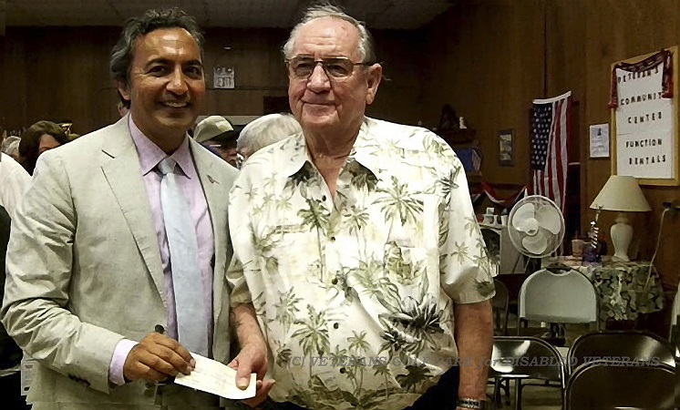 CA Congressman Dr Ami Bera with VCP Founder Jim Rounsavell