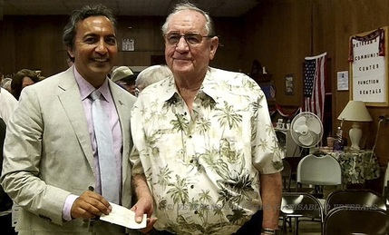 Congressman Ami Bera with VGP Founder Jim Rounsavell